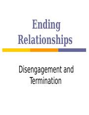 Dissolution of relationships, 2013.ppt