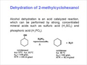 10 - Dehydration of 2-Methylcyclohexanol