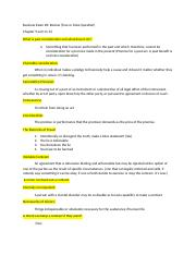 Exam#3-business law- Review Sheet