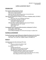 University lab report