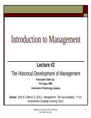 ITM - Lecture 2 - TheEvolution of Management (1).pptx