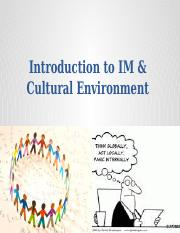 2 - Introduction to IM and Cultural Environment_24_01_2017 (1)