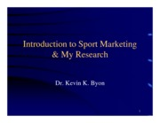 16_Sport Marketing_Byon_abbreviated slides
