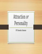Attraction or Personality Poster.pptx