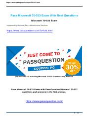 Passquestion Microsoft 70-533 question material.pdf