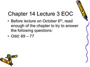 Temperature Effects Lecture Slides