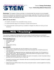EXTRACTING RESOURCES (FRACKING).docx