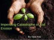 Soil Erosion - Human Security