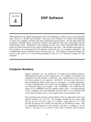 CH4 - DSP Software
