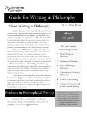 Guide for Writing in Philosophy.pdf