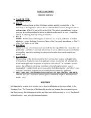 BLR 222 case brief GRUTTER v UofM.docx