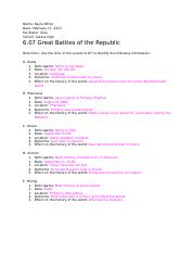 6.07 Great Battles of the Republic.docx