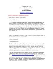 Common Core State Standards assignment-2.docx