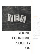 YES - Young Economic Society