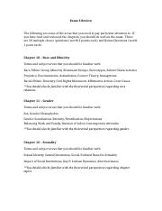 Exam 3 Study Guide - IntroSoci