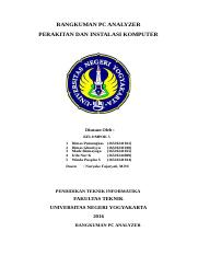 RESUME PC ANALYZER KELOMPOK 5