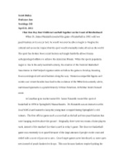 Research paper on nba