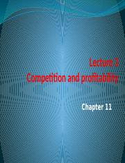Lecture 3 Competition and profitability.pptx