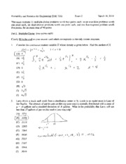 Spring 2010 Exam 2 Solutions