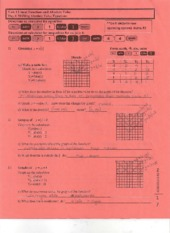 Shifting Absolute Value Equations Notes