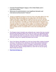 melodiemalone amh week essay world war i melodie 1 pages evaluate ronald reagan