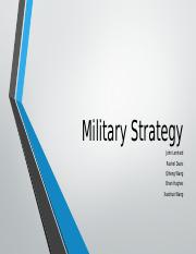 Military Strategy PPT (2)