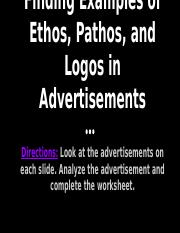 Rhetoric in Advertisements