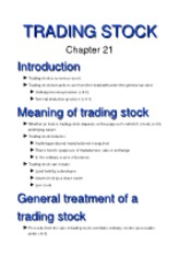 21 (Trading Stock)[1]