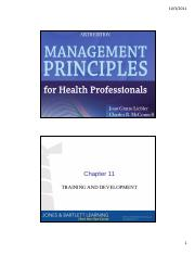 For pdf professionals management principles health