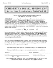 CHEM102-S2007-EXAM2-mar18-no ans highlighted
