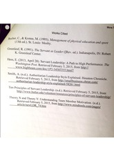 servant leadership paper The servant-leadership concepts of robert k greenleaf adrian giorgiov emanuel university whose service during his earthly ministry reflected a true servant leader the paper presents the characteristics of a servant leader and of a servant institu.