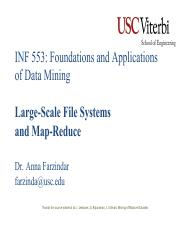 Week2-MapReduce3.pdf - INF 553 Foundations and Applications ...