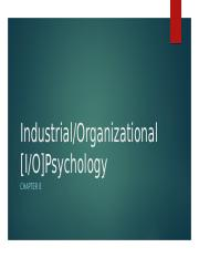 Careers Chapter 8-Industrial Organizational Psychology (1).pptx