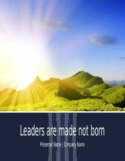 leaders are made.pptx