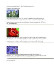 The Endangered Plant Species.docx
