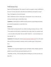 ib english a1 world literature essay 2