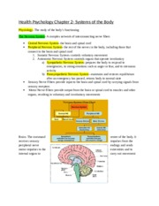 Health Psychology Chapter 2