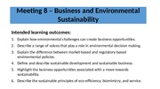 Topic 7  - Business and Environmental Sustainability.pptx