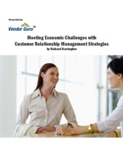 CRM Strategy can be key to surviving economic slowdown 50608