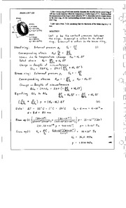 867_Mechanics Homework Mechanics of Materials Solution