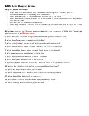 Little Bee Chapter Seven Guide_Questions