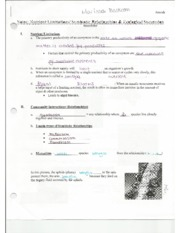 Biology Nutrient Kingdom Guided Notes