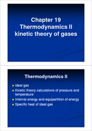 General Physics(ppt) Ch 19