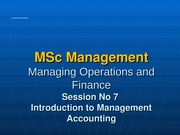 Lecture 7 Management Accounting b even (2)