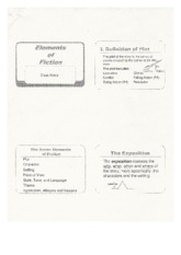 Elements of Fiction Notes