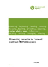 Harvesting rainwater for domestic uses - An information guide (UK, 2010)