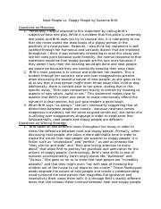 English 101 Essay  Pages Neat People Vs Sloppy Peopledocx Thesis Statements For Argumentative Essays also Making A Thesis Statement For An Essay Neat Vs Sloppydocx  Precis Neat People Vs Sloppy People By Suzanne  A Modest Proposal Essay Topics