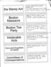 Boston Massacre Notes