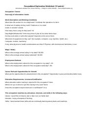 CE Career Project_Worksheets.docx