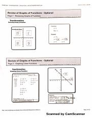 function operations notes